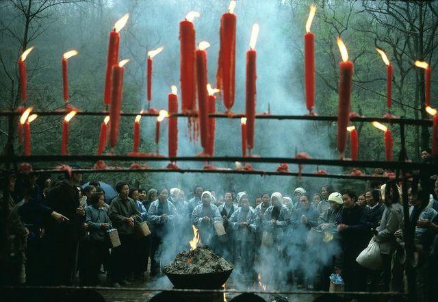 , 'Qing Ming Festival, Hangzhou, China,' 1983, Sundaram Tagore Gallery