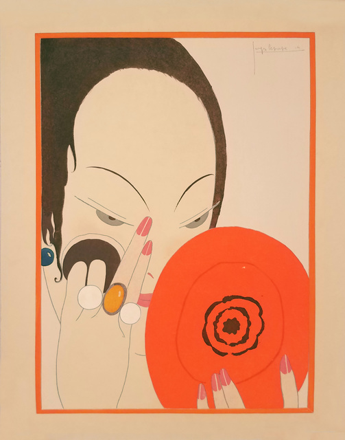 , 'Le Mirror Rouge - The Red Mirror - Fashion - Makeup,' 1914, Omnibus Gallery