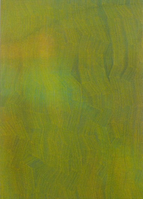 , '50-17 Yellow on Mixed Greens,' 2017, Charles Nodrum Gallery