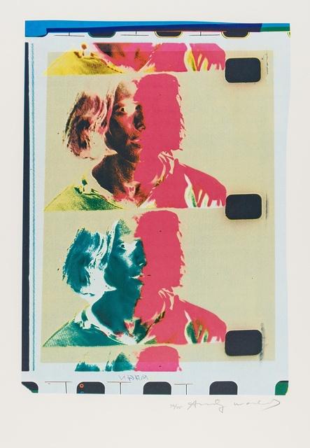 Andy Warhol, 'Eric Emerson (Chelsea Girls) (Feldman & Schellmann II.287)', 1982, Forum Auctions