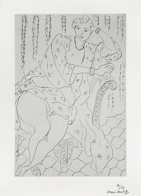 , 'Figure au fauteuil turc,' 1929, Lyndsey Ingram