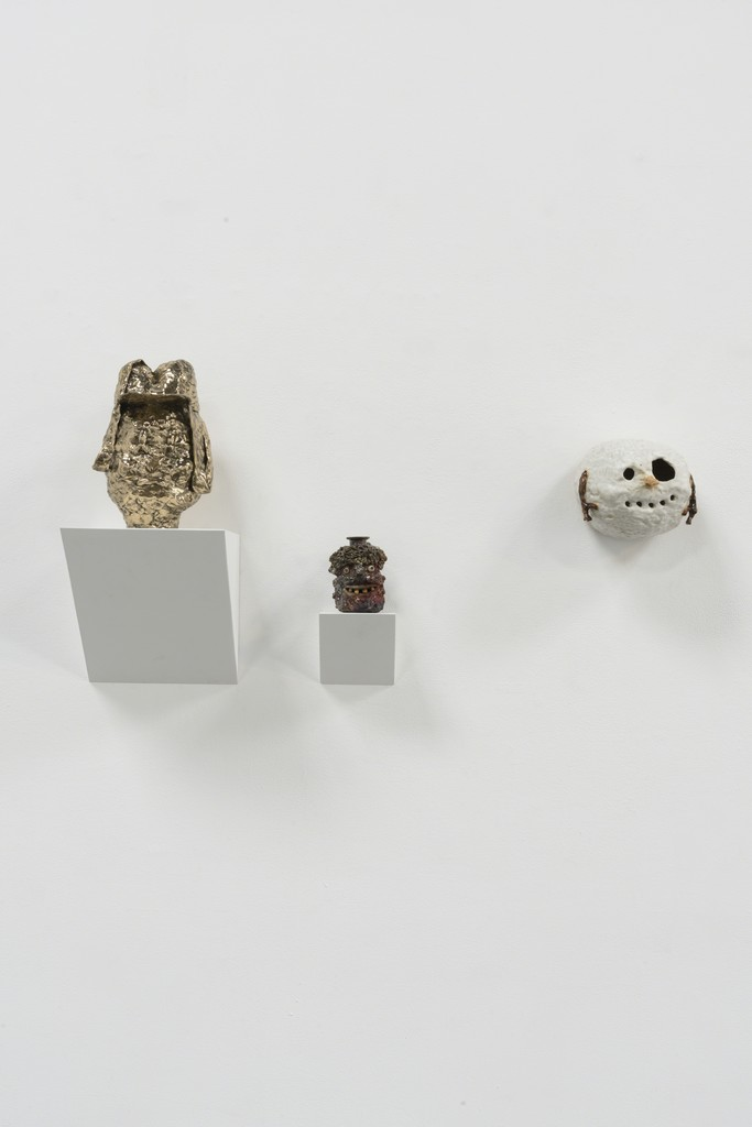 "Installation view: ""Beheaded"" (Ojanen, Morgan, Croes)"