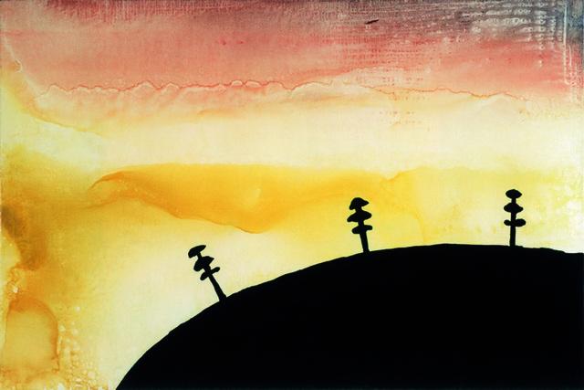 , 'Landschaft grün, gelb, rot,' 1995, Sprüth Magers
