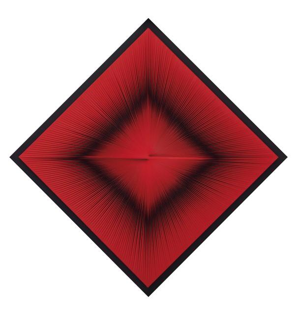 Toni Costa, 'Struttura ottica dinamica rossa (Estructura óptica dinámica roja)', 1965, Museo de Arte Contemporáneo de Buenos Aires