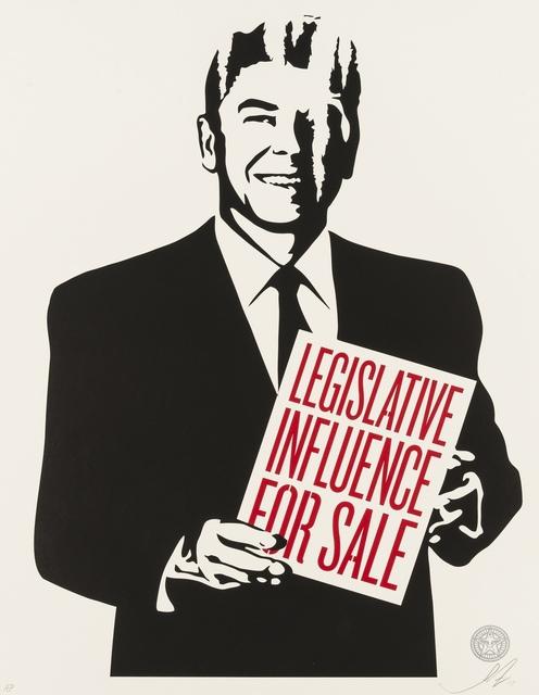 Shepard Fairey, 'Reagan Nixon Series - 4 prints', 2011, Forum Auctions
