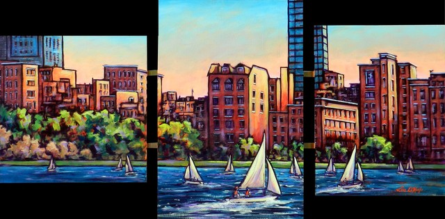 Lou O'Keefe, 'Summer on The Charles', ca. 2014, L'Attitude Gallery