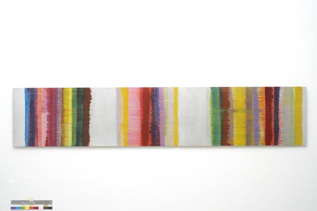 , 'zeitstreifen,' 2016, Galerie Floss & Schultz