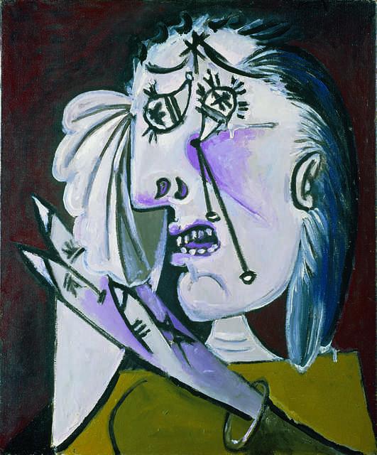 Pablo Picasso, 'La femme qui pleure (Weeping Woman)', 1937, Painting, Oil on canvas, Fondation Beyeler