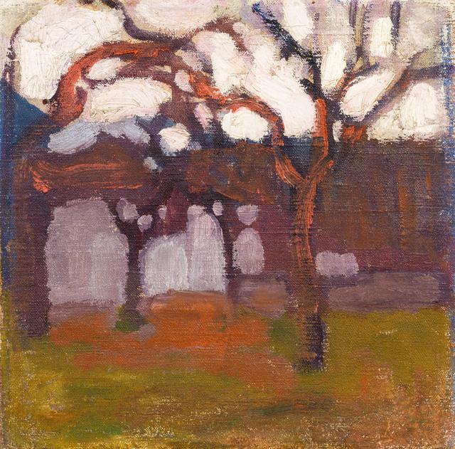 , 'autumn mood,' 1913, Galerie Kovacek & Zetter