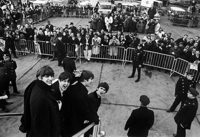 , 'Beatles Arriving in New York,' 1964, Holden Luntz Gallery