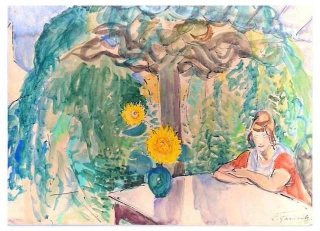 Charlotte Gardelle, 'The Garden', 1950s, Wallector