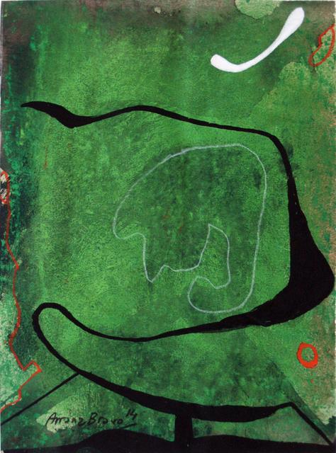 , 'Green-Green 5,' 2014, Matthew Liu Fine Arts