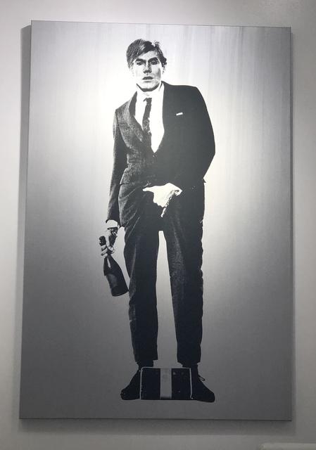 Knowledge Bennett, 'Cajones- Warhol', 2018, Mixed Media, Silkscreen, Acrylic Paint, Mouche Gallery