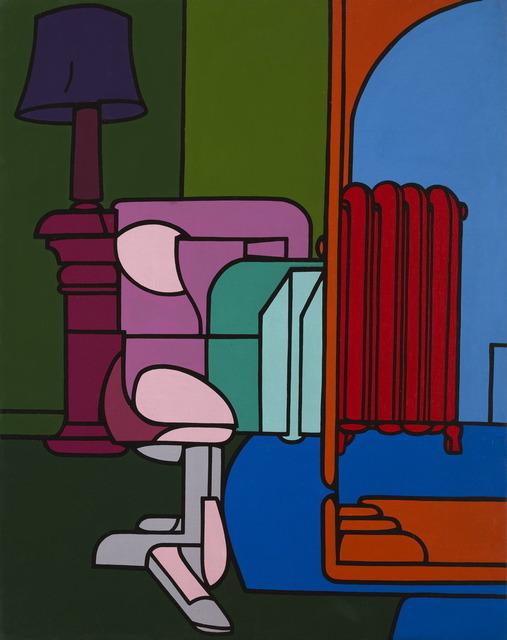 , 'Figura in casa,' 1969, Galerie Laurent Strouk