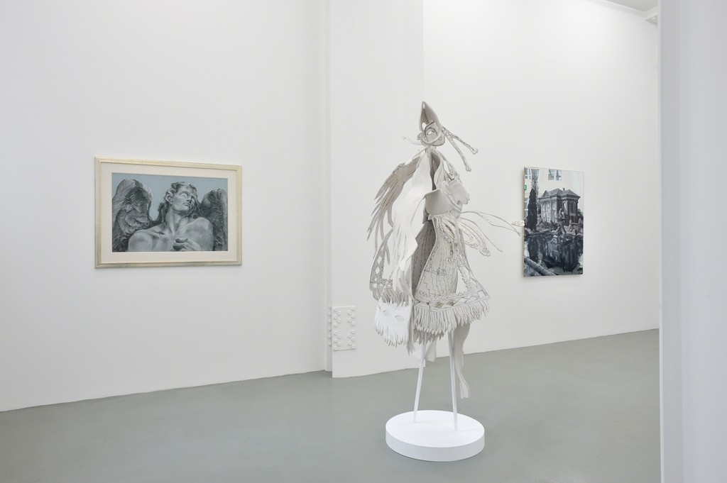 Exhibition view at Galerie Mitterrand, 2014. Copyright Rachel Feinstein, Courtesy Galerie Mitterrand, Photo Rebecca Fanuele.