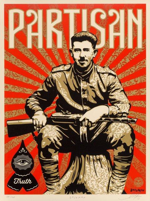 Shepard Fairey, 'Partisan', 2013, Heritage Auctions
