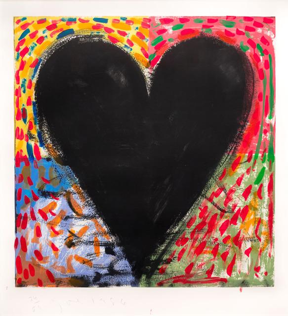 Jim Dine, 'Hand Painting on the Mandala', 1986, Leslie Sacks Gallery