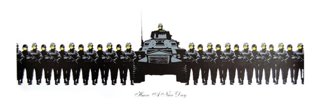 Banksy, 'Have a Nice Day', 2004, Taglialatella Galleries