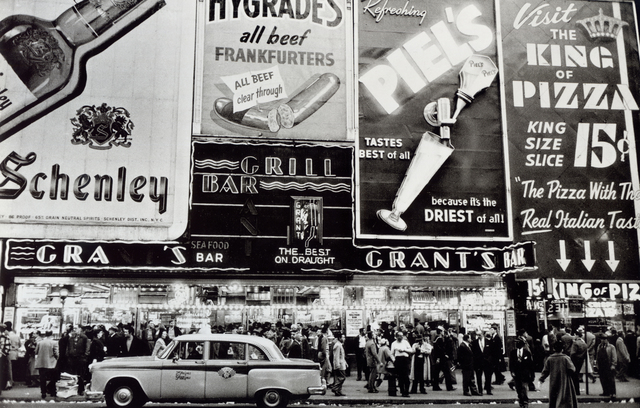 , 'Grant's Bar, New York,' 1956, Bruce Silverstein Gallery