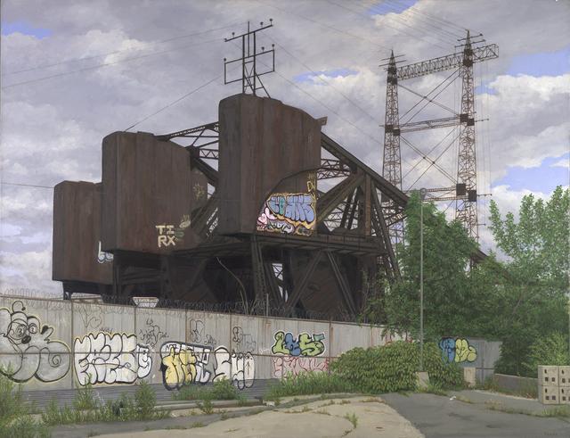 , 'Bronx Drawbridge,' 2010, Lyons Wier Gallery