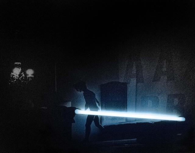 """Silvia Lelli, 'Neon collection / Neon installation, I.C, V.D.P.S., I.I.E./E.I.I./S 33-38, Il Carrozzone, """"Vedute di Porto Said, Interni in esterno/esterni in interno/studi 33- 38"""" Milano, Sala Azzurra, 1979', 1979,  29 ARTS IN PROGRESS gallery"""