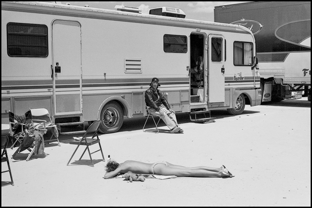 Arthur Elgort, 'Carmen Kass, Death Valley, California', 2000, Photography, Gelatin Silver Print, Staley-Wise Gallery