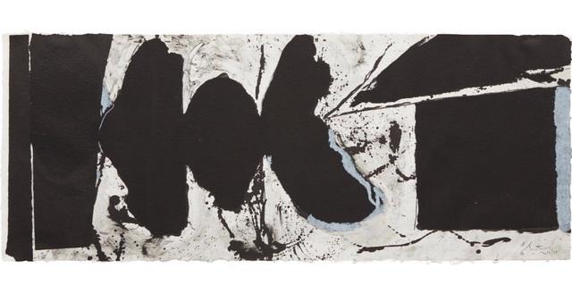 , 'Elegy Black Black,' 1983, Bernard Jacobson Gallery