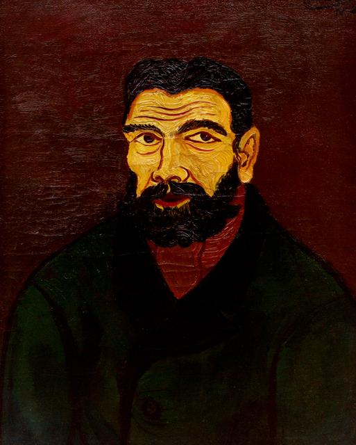 , 'Mann mit schwarzem Bart (Man with Black Beard),' 1928, Hagemeier