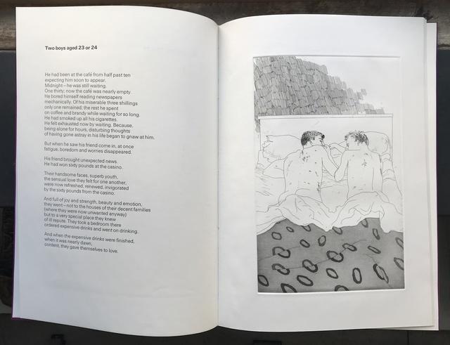 David Hockney, 'Fourteen Poems by C.P. Cavafy, Chosen and illustrated by David Hockney, Translated by Nikos Stangos and Stephen Spender', 1966, Jason McCoy Gallery