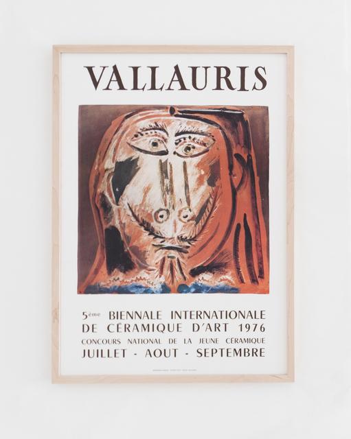 Pablo Picasso, 'Vallauris 5ème Biennale Internationale de la Céramique d'art 1976', 1976, BASTIAN