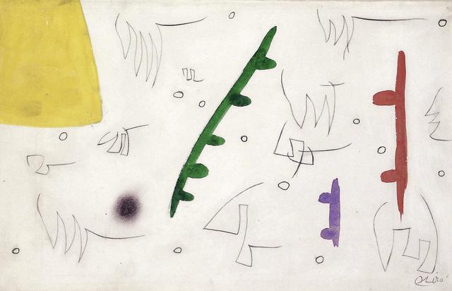 , 'Oiseaux dans un paysage (W7804),' 1976, Galerie Ernst Hilger