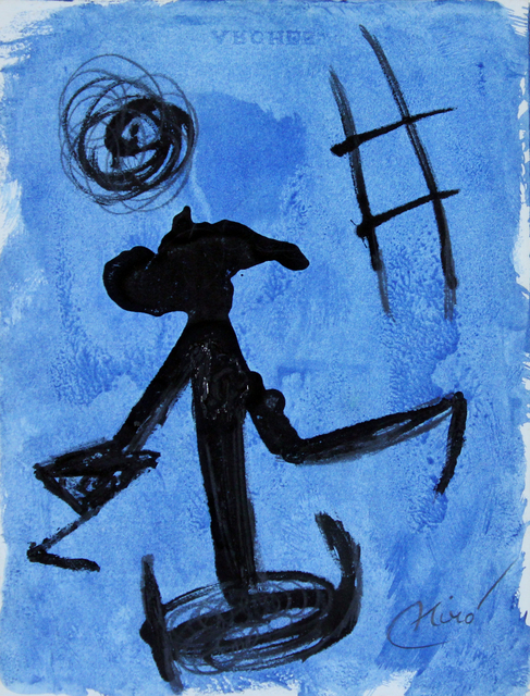 Joan Miró, 'Woman, Escape Ladder', 1977, Gormleys Fine Art