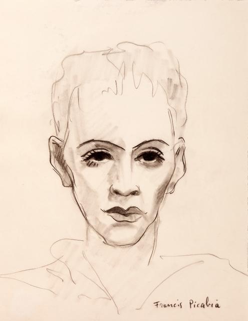 Francis Picabia, 'Portrait d'homme', 1940, Galerie Sophie Scheidecker