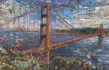, 'Postcards from Nowhere: Golden Gate Bridge,' 2015, Galeria Nara Roesler