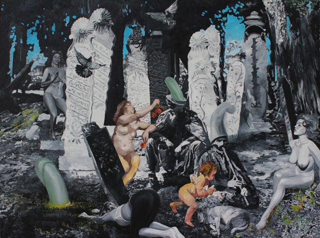 , 'Mezar Taşım,' 2017, Anna Laudel