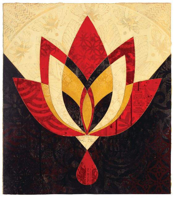 , 'Bleeding Lotus, Version 1,' 2018, Galerie Ernst Hilger