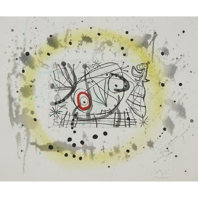 Joan Miró, 'Fissures,  Plate 5', 1969, Freeman's