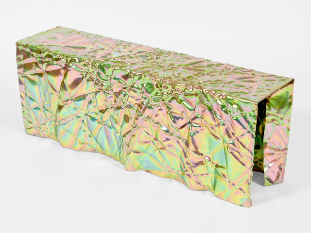 , 'Wrinkled Bench,' 2017, Patrick Parrish Gallery