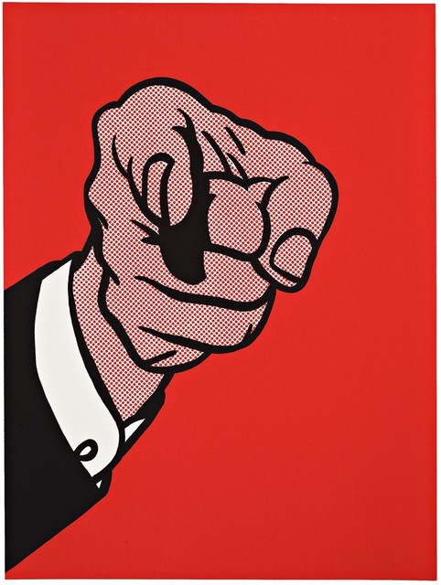 Roy Lichtenstein, 'Finger Pointing', 1973, Kings Wood Art