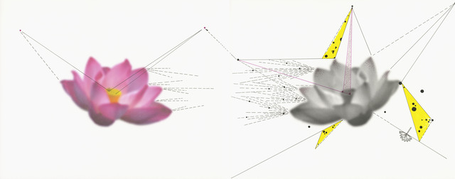 , 'Two Lotuses,' 2013, Flowers