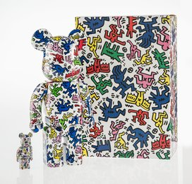 Haring 400% and 100%, two works