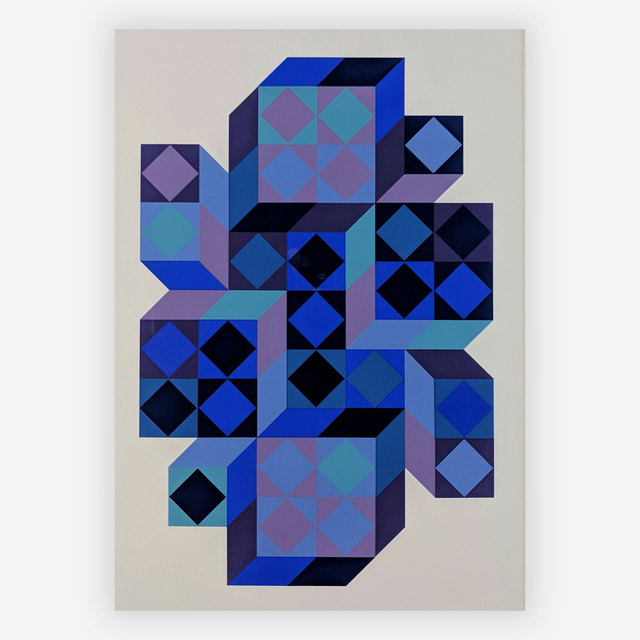 Victor Vasarely, 'Tridim BB', c.1968, Capsule Gallery Auction