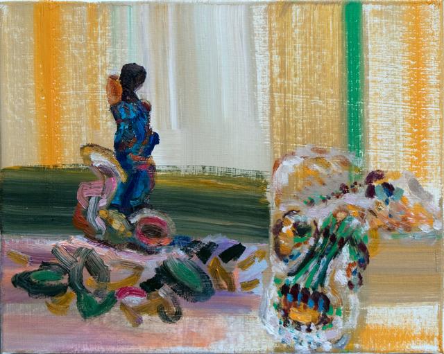 , 'Woman in Blue,' 2018, Corkin Gallery