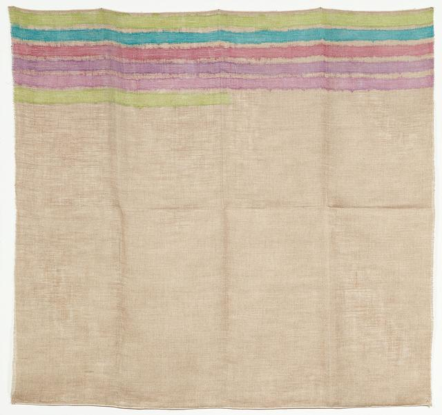 Giorgio Griffa, 'Horizontal lines', 1973, Galería Marita Segovia