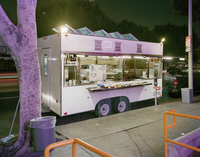 , 'Taco Truck in Front of Check Cashing Office, Los Angeles, California,' 2009, Robert Klein Gallery