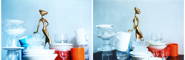 Itziar Bilbao Urrutia, 'Queen Of My Kitchen', 2000, Photography, C-Print on dibond backing face mounted to 3mm plexiglass (diptych), IFAC Arts