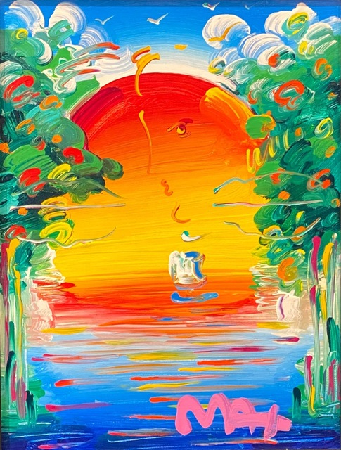 Peter Max, 'Better World ', 2018, Painting, Original acrylic on canvas, Off The Wall Gallery