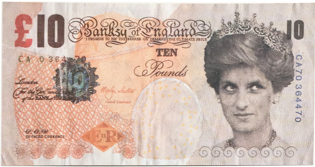 Banksy, 'Di-faced Tenner', 2004, EHC Fine Art: Essential Editions