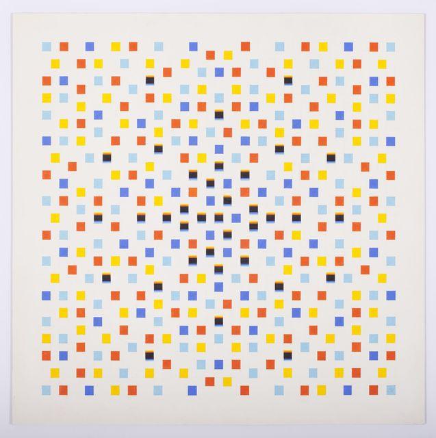 , 'Untitled (Confetti Series),' 1970, Allan Stone Projects