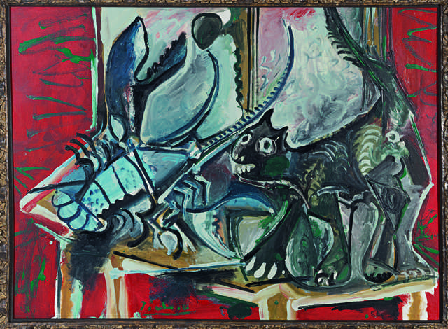 Pablo Picasso, 'Chat et homard (Cat and Lobster)', 1965, Fondation Beyeler